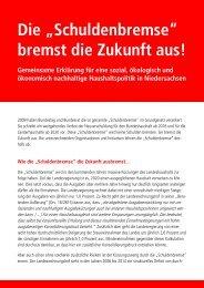 """Die """"Schuldenbremse"""" bremst die Zukunft aus! - Kooperationsstelle ..."""