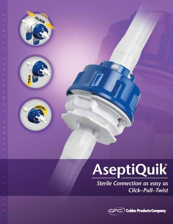 connect with colder Sterile Fluid transfer - Colder Products Company