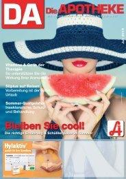 Bleiben Sie cool! - Österreichische Apothekerkammer