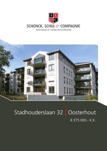 Stadhouderslaan 32 | Oosterhout - Schonck, Schul & Compagnie
