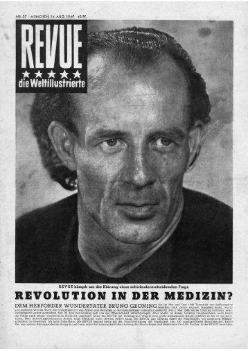 Revolution in der Medizin? (Original PDF) - Bruno Gröning Stiftung