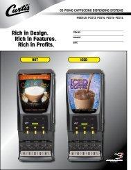 Brochure (PDF) - Wilbur Curtis