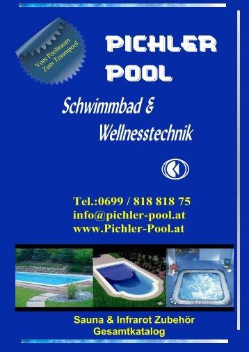 b a u artikel fü r sa u na u n d in fr aro t - Pichler-Pool