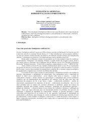 REPRESENTAÇÃO DE CONHECIMENTO por - ResearchGate