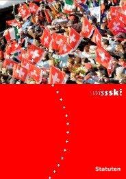 Statuten (360 KB) - Swiss-Ski