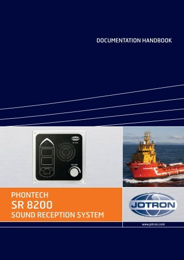 Documentation Handbook SR 8200.pdf - Jotron