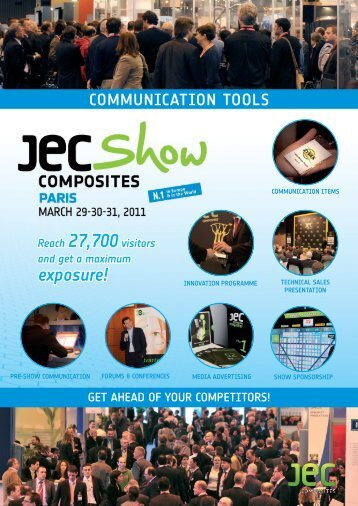 Communication Tools - JEC Composites