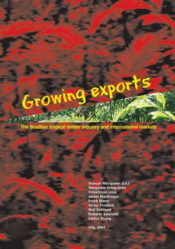 Growing exports - Instituto de Economia da UFRJ