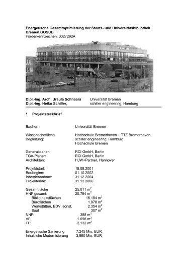 443 KB - Energetische Sanierung der Bausubstanz - EnSan