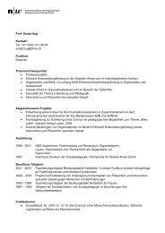 Prof. Sonja Hug Kontakt: Tel. +41 (0)62 311 96 94 sonja.hug@fhnw ...