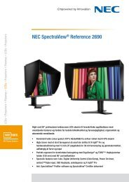 NEC SpectraView® Reference 2690 - Pixl