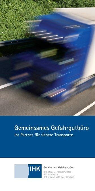 Gemeinsames Gefahrgutbüro - IHK Schwarzwald-Baar-Heuberg