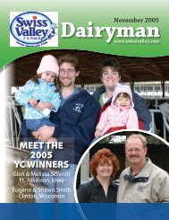 November 2005 - Swiss Valley Farms