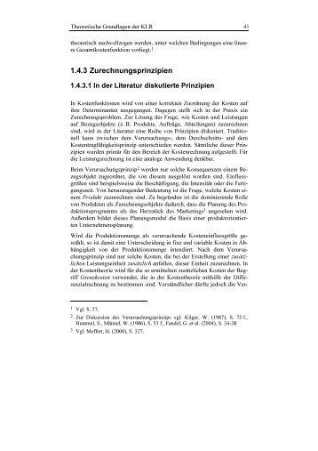 1.4.3 Zurechnungsprinzipien - Vahlen