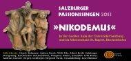 niKoDeMuSÂ« - Chorverband Salzburg