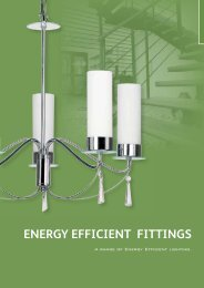 ENERGY EFFICIENT FITTINGS - WF Senate