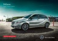 Preisliste B-Klasse (PDF) - Mercedes-Benz