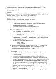 Protokoll der konstituierenden Sitzung des ASta-Rats am 12.02. 2013
