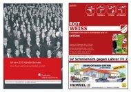 Ausgabe 1, Saison 2010/2011 - SV Schmieheim