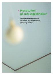 • Prostitution på massageklinikker - Reden København