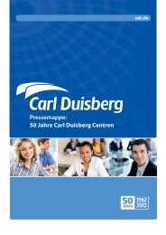 Dr. Kai B. Schnieders - Carl Duisberg Centren