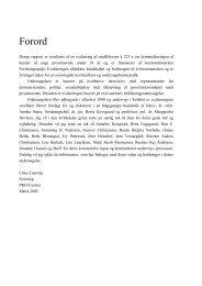 Evaluering af straffelovens § 223A - Reden København