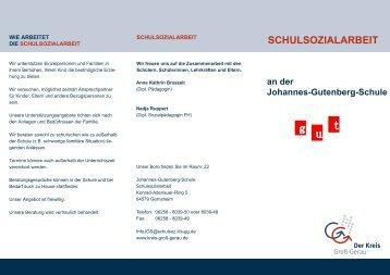 SCHULSOZIALARBEIT - Kreis Groß-Gerau