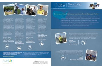 Clean Energy - Pew Environment Group