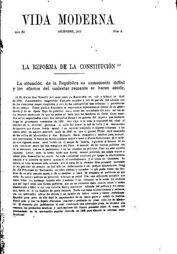 Año 11, n. 3 (dic. 1910) - Publicaciones Periódicas del Uruguay