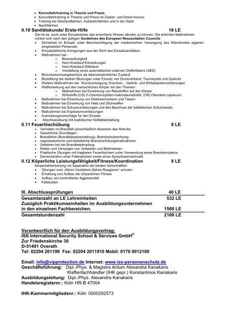 Download Mustervertrag Sicherheitsfachkraft Personenschutz ...