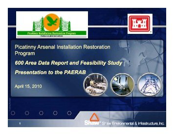 600 Area - PDF file - Picatinny Arsenal Environmental Restoration ...