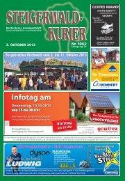 Ausgabe 1062 - Steigerwald-Kurier