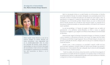 Dra. María Amalia Amaya Navarro - dgapa unam