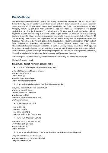 Die Methode - prantner.cc