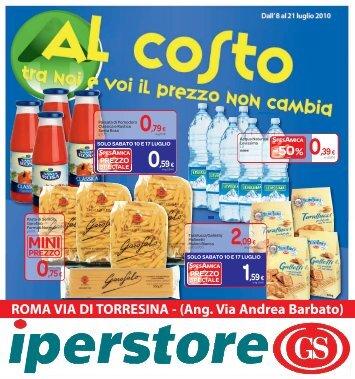 al costo - SuperPrezzi.Roma