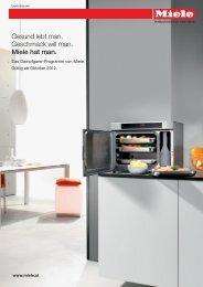 Miele Dampfgarer-Pro.. - Weyland GmbH