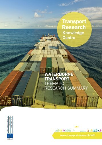 Waterborne transport - Thematic Research Summary (2010)
