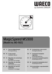 MagicSpeed MS900 - Waeco