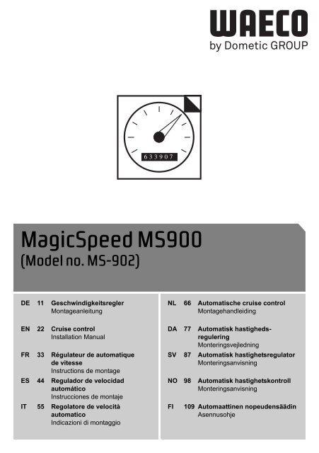 magicspeed ms900 waeco. Black Bedroom Furniture Sets. Home Design Ideas