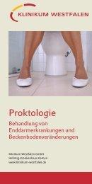 Flyer Proktologie