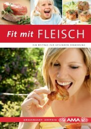 Fit mit Fleisch - AMA-Marketing