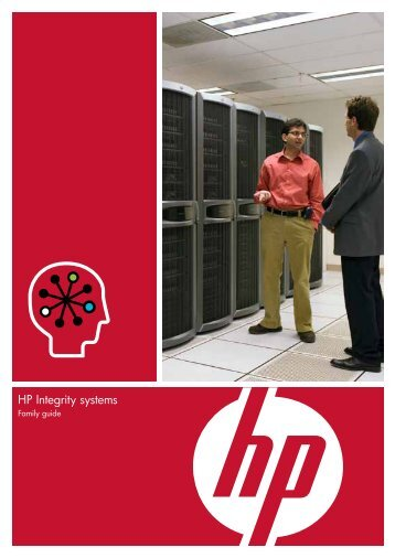 HP Integrity systems - Family guide - GovConnection