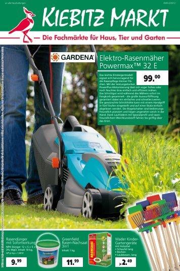 Elektro-Rasenmäher Powermax™ 32 E 9.99 11.99 - Kiebitzmarkt
