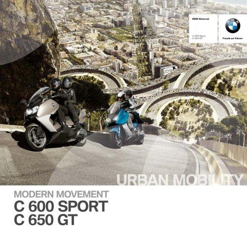 Katalog C 600 Sport C 650 GT - BMW Motorrad