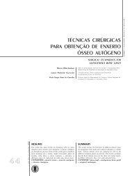 técnicas cirúrgicas para obtenção de enxerto ósseo ... - Unimep