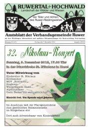 Sonntag, 9. Dezember 2012, 17.00 Uhr in der Pfarrkirche St ...