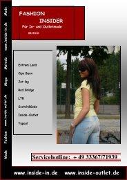 Fashion-Insider 09/10 - Inside-In.de