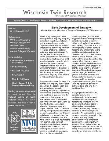 How Children Develop Empathy