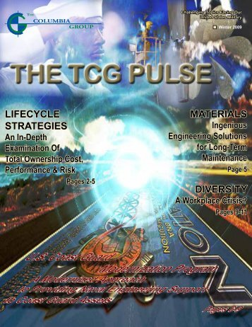 THE TCG PULSE - The Columbia Group
