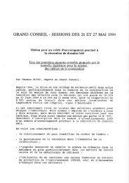 27/03/1994 Grand conseil - Charpente Concept
